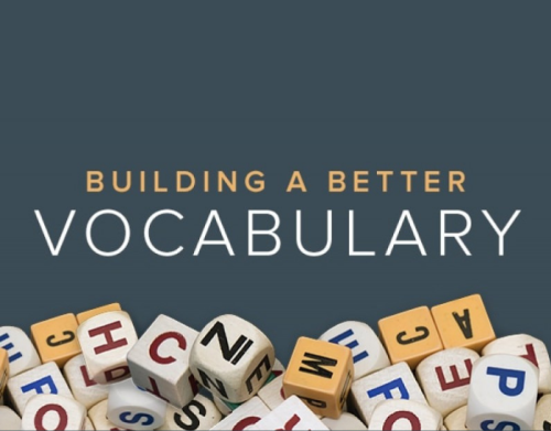 Learning common English Vocabulary words