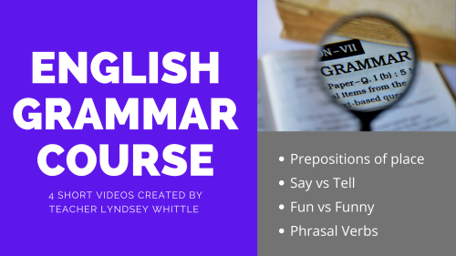 This FREE English course is ideal for beginners