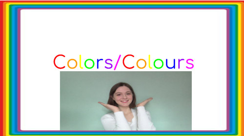 Learning the Colors/Colours