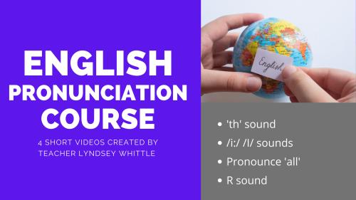 Improve your pronunciation
