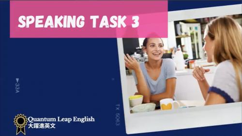 IELTS  Speaking task 3